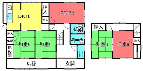 西川邸貸家(安養寺7)