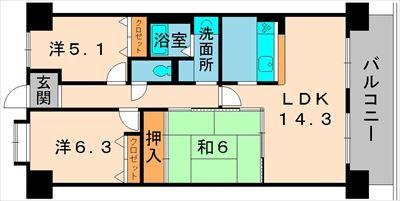 グレーシィ栗東オーブ804号室_R