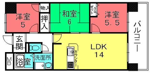 サンロイヤル栗東(栗東綣3)