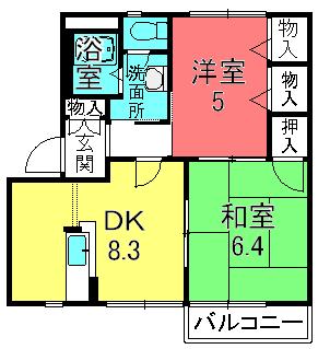 ドミール21AB棟(栗東北中小路)