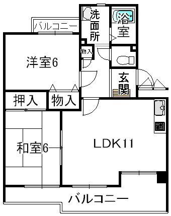アルカディア中島2号室(栗東霊仙寺)
