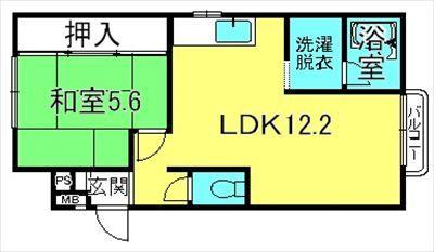 大橋ハイツ201号室(栗東大橋4)_R